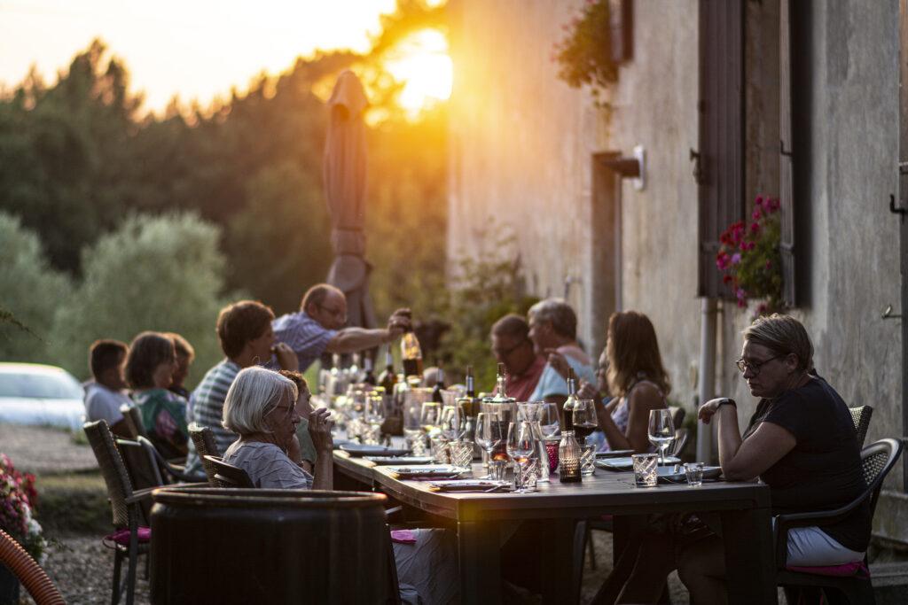 Dordogne wijn en toeristen